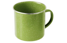 GSI Emaille Tasse grn